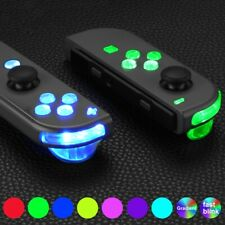 7 Colors 9 Modes Luminated ABXY Trigger Face Buttons for Nintendo Switch JoyCon