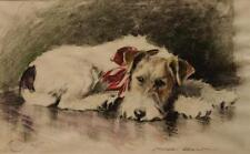 Wire-haired Fox Terrier : Morgan Dennis : circa 1941 : Fine Art Print