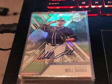 WILL GADDIS  2017 ELITE EXTRA EDITION AUTO #86  ROCKIES!