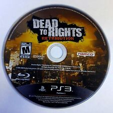 DEAD TO RIGHTS RETRIBUTION (PS3 GAME) (DISC ONLY) 3453