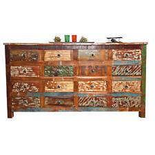 Commode bahut buffet console à tiroirs meuble de salon salle a manger manguier
