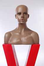 Female Mannequin deko-kopf Wig Head Bald Female Head hfo Decor