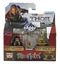 Thor Loki and Heimdall 2 Pack Figure Set Marvel Minimates Series 53 MCU MIB New