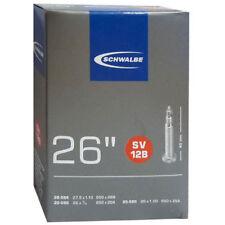 "Schwalbe 26"" sv12b Bicicleta Cámara de aire 40mm válvula Presta 26"""