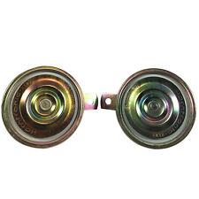 Autos Metal waterproof High DB Golden Compact Super Tone Waterproof Horn 2 Pcs