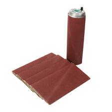 "9"" x 3"" Aluminum Pneumatic Sanding Drum Rubber Sleeve Tube & 5Pcs Sanding Belts"