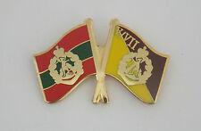 5TH/7TH BN RAR & ROYAL AUSTRALIAN REGIMENT FLAGS LAPEL BADGE 25MM WIDE 1 PIN