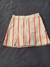Gymboree Tutti Fruity Striped Skirt Size 10