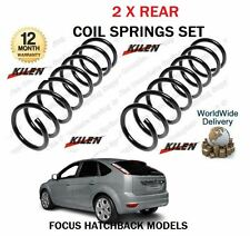 FOR FORD FOCUS HATCHBACK MODELS TI  TDCI 2004-2012 NEW 2 X REAR COIL SPRINGS SET