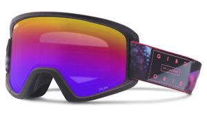 Giro Ski Goggles Snowboard Goggles Dylan 18 Black Plain Colour Retro Look