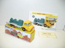 DINKY TOYS ATLAS, berliet STRADAIR machine-outil, dinky toys ref 569 P