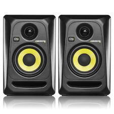 KRK RP4 G3 Black Active Studio Reference Monitor Speakers Pair