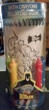 Batman Bath Crayons and Coloring Book New
