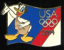 USA Olympic Starter Donald Duck Disney Pin 32172