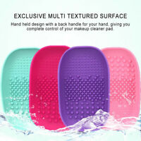 Silicone Cleansing Pad Makeup Brush Scrubbing pad Brush Scrubber Cleaning Mat CA