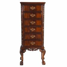 NBR022, Niagara Furniture, Mahogany Ball and Claw Lingerie Chest