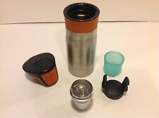 Contigo West Loop Tea Infuser Accessory and Stainless Thermos Set for Making TEA