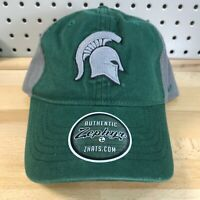 Michigan State Spartans NCAA College Zephyr Strap Back Low Pro Hat NWT Cap