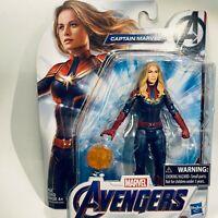 Hasbro Marvel AVENGERS ENDGAME MCU CAPTAIN MARVEL 6in Basic Figure