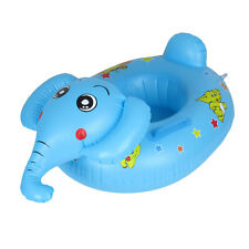 Baby Toddler Elephant Shaped Inflatable Swim Swimming Pool Seat Chair Boat Toy