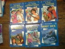 Lot de 6 livres collection  livres classiques Illustrés jeunesse