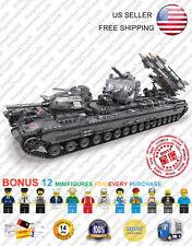 XB-06006 The KV-2 Tank Military Army XingBao Ideas Building Blocks 3663 Pcs Moc