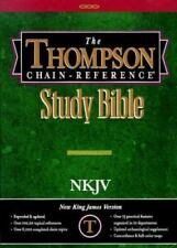 Thompson Chain Reference Bible (Style 313) - Regular Size NKJV - Hardcover, Good