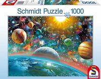 Outer Space Schmidt Surrealist Planets Jigsaw Puzzle 1000 pieces 58176