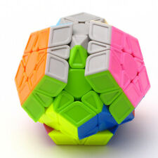 Concave Magic Cube Colorful Stickerless Magic Cube Dodecahedron Kids Puzzle Toy