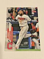 2020 Topps Baseball UK Edition Base Card - Carlos Santana - Cleveland Indians
