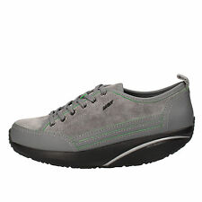 womens shoes MBT 4 (EU 37) sneakers grey suede leather AB82-B