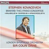 Stephen Kovacevich - Brahms - 2 Piano Concertos Sir Colin Davis CD Album Philips