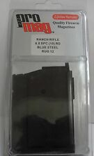 New ProMag Ruger Ranch Rifle 6.8 SPC 10RD Blued Steel RUG12 Mag Clip
