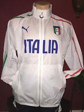 NWT Puma 2014 World Cup Italy White Walkout Jacket (men Size Large)