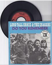 "Long Tall Ernie & The Shakers, Do you remember, G/VG,  7"" Single 1011-3"