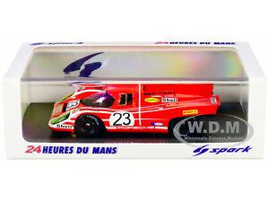"""PORSCHE 917K #23 """"SHELL"""" WINNER 24H OF LE MANS 1970 1/43 MODEL CAR SPARK 43LM70"""