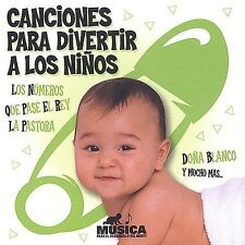 Canciones Para Divertir a los Ninos by Various Artists (CD, Apr-2007, St. Clair)