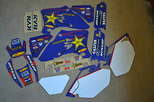 FLU  ROCKSTAR  GRAPHICS &  WHITE  BACKGROUNDS  YAMAHA WR250F WR450F 2005 2006