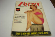 Focus Cheesecake Magazine January 1953 Lucia Bose  072812EL