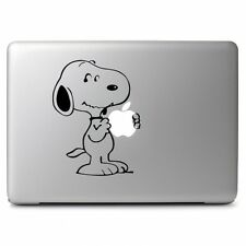 "Snoopy Eat Apple Decal Sticker for Macbook Air/Pro 13 15 17"" Laptop Notebook Art"