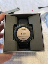 Garmin Fenix 6 Pro Multisport Smartwatch with GPS - Black. No Screen Scratches!
