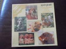 Springbok Dogs Dogs Dogs Challenger Series 480 Pcs for 6 Puzzles USA 2000 NEW