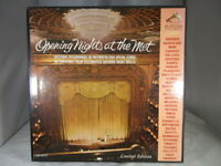 OPENING NIGHT AT THE MET (Limited Edition) - RCA LM-6171 - VG+ cover NM Mono