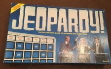 JEOPARDY!™  board game Pressman Toy Corporation 1986 Ages 8 & up 3 to 5 players