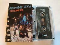 HURRICANE ALICE...TEAR THE HOUSE  DOWN - - Rare Australian Cassette (Tape)