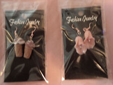 Cute Ice Cream Cone Earrings! New hand-made jewelry, costume