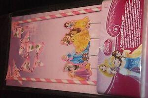 Disney Princess Bunting cake decorating kit