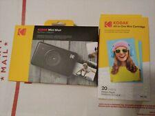 Kodak Mini SHOT Wireless 2 in 1 Instant Print Digital Camera (Black)w/ cartridge