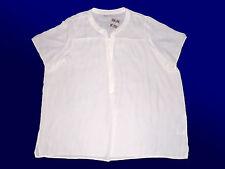 Haut pour Femmes Haut Tunique Plaid Laine Blanche Grandes Tailles Gr. 54 4 XL