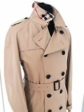 £ 1395 Bnwt Burberry London Herren Wiltshire Trenchcoat 56 = UK 46
